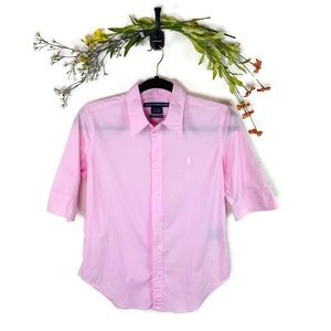 Ralph Lauren Sport | Super Slim Fit Shirt Pink 10